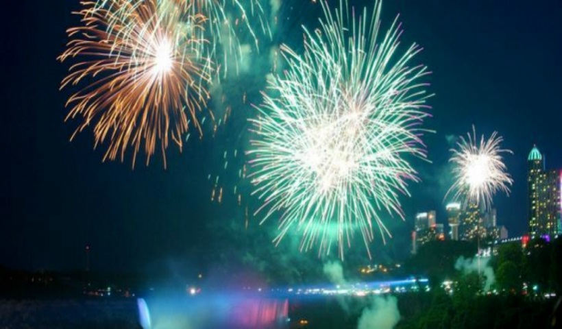 Canada Day Fireworks and Festivals Across Niagara