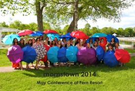 momstown.ca's Spring Conference at Fern Resort