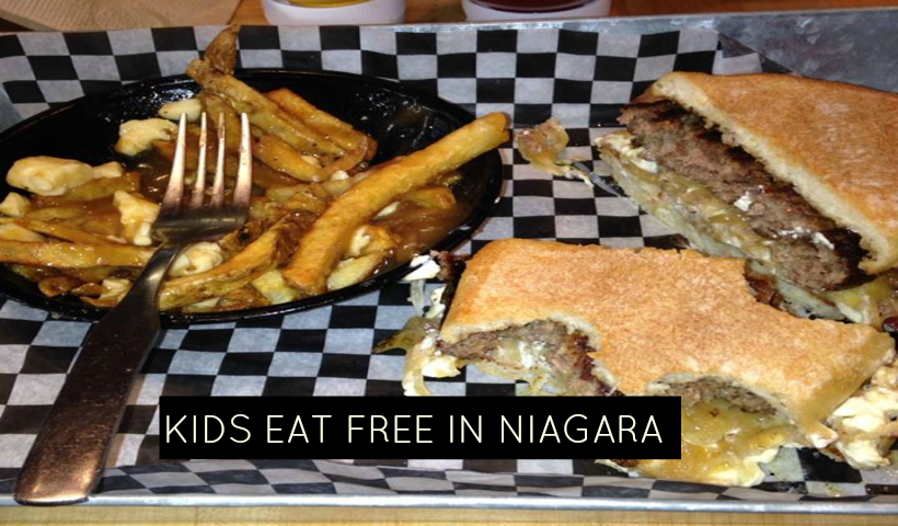 Kid's Eat Free Across Niagara